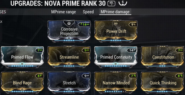 Warframe Speed Nova Build / This can be used to speed.