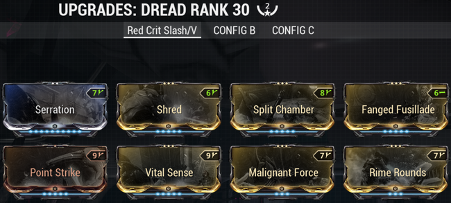 Warframe screenshot build dread red-crit-slash-viral.png